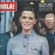 Coleccionismo de Revista Hola: REVISTA HOLA Nº 1265 23 NOVIEMBRE 1968,MARÍA AMPARO RODRIGO MISS ESPAÑA, AUDREY HEPBURN Y MEL FERRER. Lote 46749452