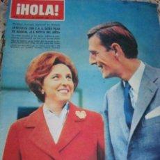 Coleccionismo de Revista Hola: BRIGITTE BARDOT- SHIRLEY MCLAINE- INFANTA DOÑA PILAR. Lote 47042768