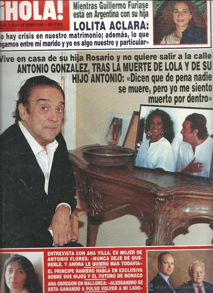 Hola N 186 2654 De 1995 Antonio Flores Diana Vendido En