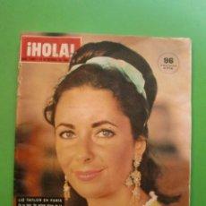 Coleccionismo de Revista Hola: Nº 1052 24/10/1964 LIZ TAYLOR RICHARD BURTON - PIER ANGELI - BEATLES - MARIA ALBAICIN - ALAIN DELON. Lote 47579728