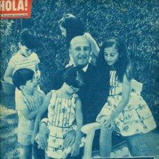Coleccionismo de Revista Hola: REVISTA HOLA FRANCO XXV ANIVERSARIO EXALTACION CAUDILLO. Lote 47596214