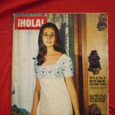 Coleccionismo de Revista Hola: REVISTA HOLA ! -Nº 1288- 3/05/1969-PORTADA: CARMEN MARTÍNEZ-BORDÍU...(VER DESCRIPCIÓN). Lote 47786564