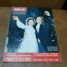 Coleccionismo de Revista Hola: REV.Nº 1318 HOLA -LA BODA DE MASSIEL, AMPLIO RPTJE.GRACIA DE MONACO CUMPLEAÑOS,FIESTA EN HOLLYWOOD. Lote 48001891