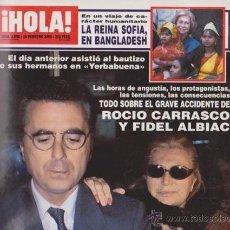 Collectionnisme de Magazine Hola: ¡ HOLA ! Nº 2898 - 24 FEBRERO 2000 - 250 PTS.. Lote 48576722