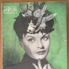 Coleccionismo de Revista Hola: REVISTA HOLA Nº 111 1946 PUBLICIDAD DE EPOCA . Lote 48864488