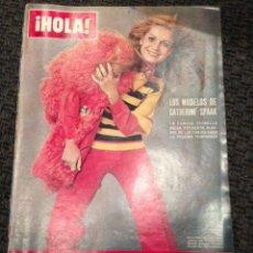 Coleccionismo de Revista Hola: REVISTA HOLA Nº 1436 MARZO 1972. EN PORTADA CATHERINE SPAAK. Lote 48974229