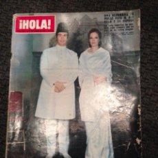 Coleccionismo de Revista Hola: REVISTA HOLA NOVIEMBRE 1969 NÚMERO 1315. AGA KHAN, ELIZABETH TAYLOR, FRANK SINATRA.... Lote 48974298