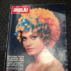 Coleccionismo de Revista Hola: REVISTA HOLA FEBRERO 1970. NÚMERO 1328. EN PORTADA BODA DE MARISA MELL Y PIERLUIGI TORRI. Lote 48974420
