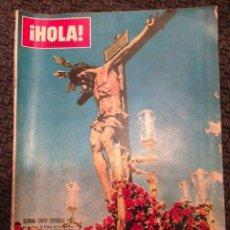 Coleccionismo de Revista Hola: REVISTA HOLA MARZO 1967 NÚMERO 1177. SEMANA SANTA ESPAÑOLA. Lote 48974621