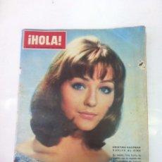 Coleccionismo de Revista Hola: HOLA Nº 1109 AÑO 1965 CRISTINA KAUFMAN VUELVE AL CINE..LOS CELOS MATARON A LA TIGRESA DEL VIETNAM. Lote 52734925