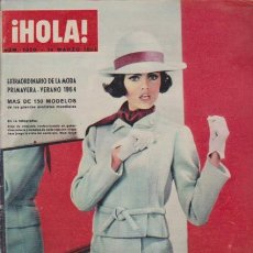 Coleccionismo de Revista Hola: ¡ HOLA ! Nº 1020 - 14 MARZO 1964 - 12 PTS.. Lote 49928596