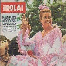 Coleccionismo de Revista Hola: ¡ HOLA ! Nº 1131 - 30 ABRIL 1966 - 8 PTS.. Lote 103976264