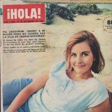 Coleccionismo de Revista Hola: ¡ HOLA ! Nº 1056 - 21 NOVIEMBRE 1964 - 8 PTS.. Lote 49988344
