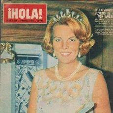 Coleccionismo de Revista Hola: ¡ HOLA ! Nº 1124 - 12 MARZO 1966 - 8 PTS.. Lote 49988373