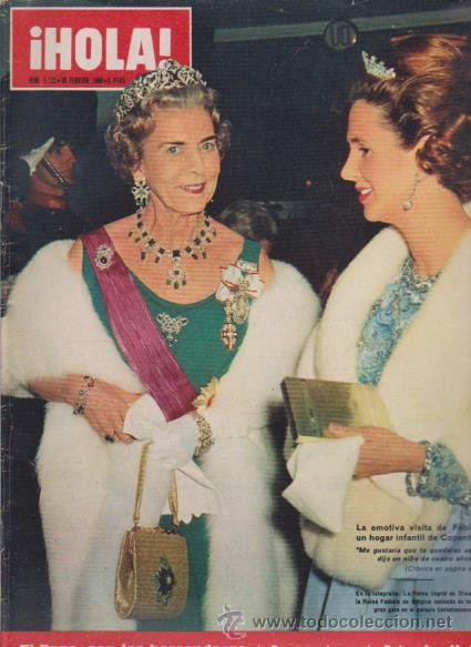¡ HOLA ! Nº 1122 - 26 FEBRERO 1966 - 8 PTS. (Coleccionismo - Revistas y Periódicos Modernos (a partir de 1.940) - Revista Hola)