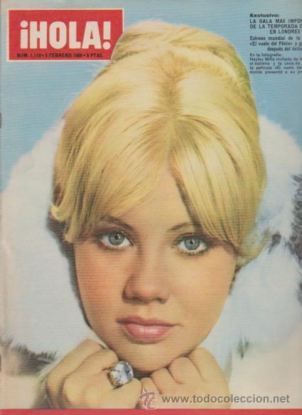 ¡ HOLA ! Nº 1119 - 5 FEBRERO 1966 - 8 PTS. (Coleccionismo - Revistas y Periódicos Modernos (a partir de 1.940) - Revista Hola)