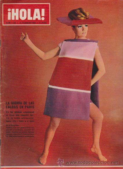 ¡ HOLA ! Nº 1120 - 12 FEBRERO 1966 - 8 PTS. (Coleccionismo - Revistas y Periódicos Modernos (a partir de 1.940) - Revista Hola)