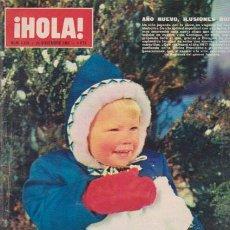Coleccionismo de Revista Hola: ¡ HOLA ! Nº 1165 - 24 DICIEMBRE 1966 - 8 PTS.. Lote 50008245