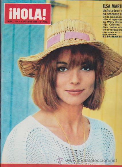 ¡ HOLA ! Nº 1154 - 8 OCTUBRE 1966 - 8 PTS. (Coleccionismo - Revistas y Periódicos Modernos (a partir de 1.940) - Revista Hola)
