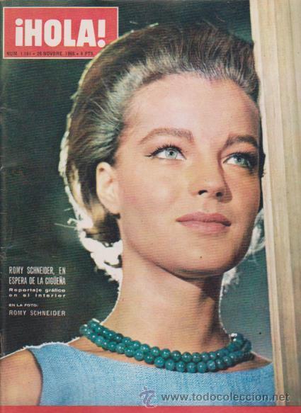 ¡ HOLA ! Nº 1161 - 26 NOVIEMBRE 1966 - 8 PTS. (Coleccionismo - Revistas y Periódicos Modernos (a partir de 1.940) - Revista Hola)
