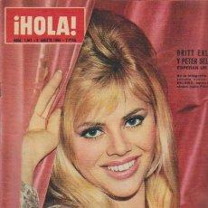Coleccionismo de Revista Hola: ¡ HOLA ! Nº 1041 - 8 AGOSTO 1964 - 7 PTS.. Lote 50008348