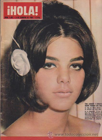 ¡ HOLA ! Nº 1067 - 6 FEBRERO 1965 - 8 PTS. (Coleccionismo - Revistas y Periódicos Modernos (a partir de 1.940) - Revista Hola)