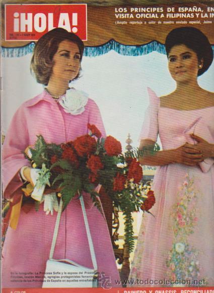 ¡ HOLA ! Nº 1541 - 9 MARZO 1974 - 20 PTS. (Coleccionismo - Revistas y Periódicos Modernos (a partir de 1.940) - Revista Hola)