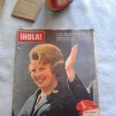 Coleccionismo de Revista Hola: LOTE 2, HOLA 1088 JULIO 1965,MARILYN MONROE, JOHN LENNON Y 1146 AGOSTO 1966, LUCI JOHNSON. Lote 50051889