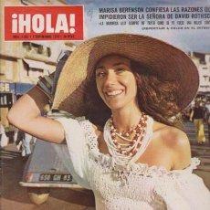 Coleccionismo de Revista Hola: ¡ HOLA ! Nº 1567 - 7 SEPTIEMBRE 1974 - 20 PTS.. Lote 50097860