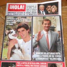 Coleccionismo de Revista Hola: HOLA -19 OCTUBRE DE 1995. Lote 50271890