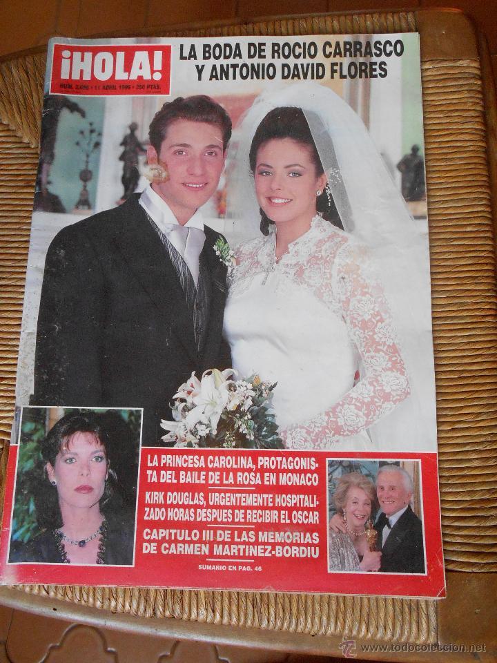 HOLA ! 11 DE ABRIL DE 1996 (Coleccionismo - Revistas y Periódicos Modernos (a partir de 1.940) - Revista Hola)
