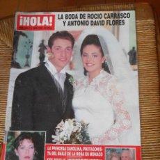 Coleccionismo de Revista Hola: HOLA ! 11 DE ABRIL DE 1996. Lote 50272935