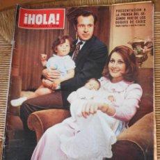 Coleccionismo de Revista Hola: HOLA 11 DE MAYO 1974. Lote 50275111