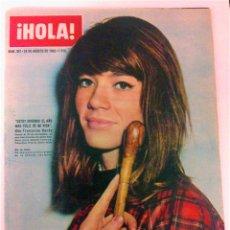 Coleccionismo de Revista Hola: ¡HOLA! 991/1963 FRANCOISE HARDY/GRACE KELLY/DAHLIA LAVI/FRANCISCO FRANCO/MARISOL/RASTRO MADRID. Lote 50416847