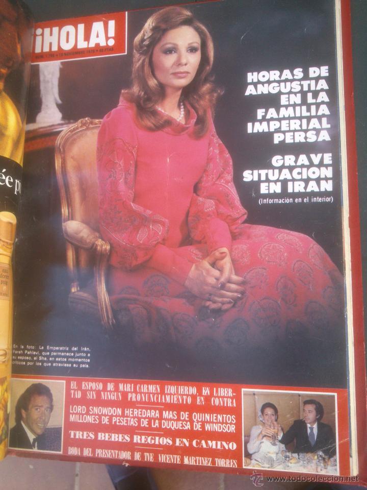 Coleccionismo de Revista Hola: Revista hola VER FOTOS historia de España 14 revistas años;70s - Foto 2 - 51036191