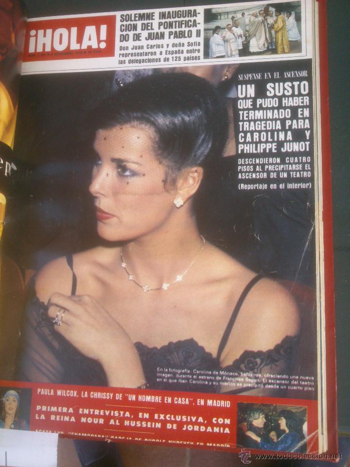 Coleccionismo de Revista Hola: Revista hola VER FOTOS historia de España 14 revistas años;70s - Foto 3 - 51036191