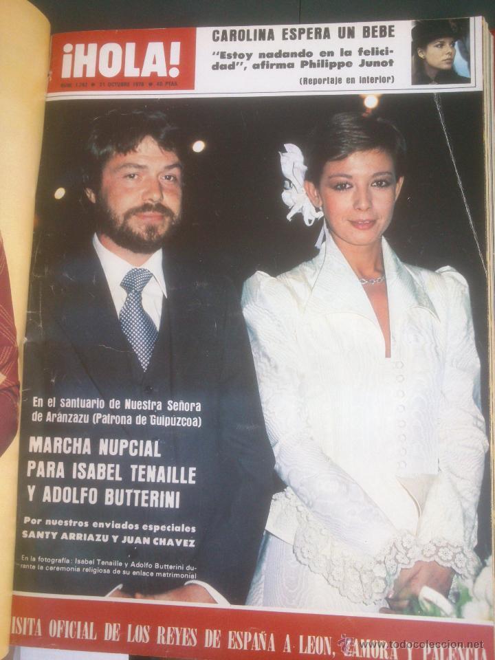 Coleccionismo de Revista Hola: Revista hola VER FOTOS historia de España 14 revistas años;70s - Foto 5 - 51036191