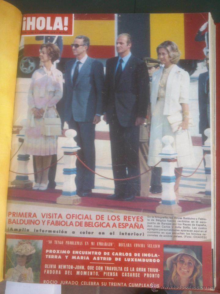 Coleccionismo de Revista Hola: Revista hola VER FOTOS historia de España 14 revistas años;70s - Foto 7 - 51036191