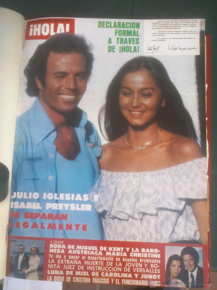 Coleccionismo de Revista Hola: Revista hola VER FOTOS historia de España 14 revistas años;70s - Foto 10 - 51036191