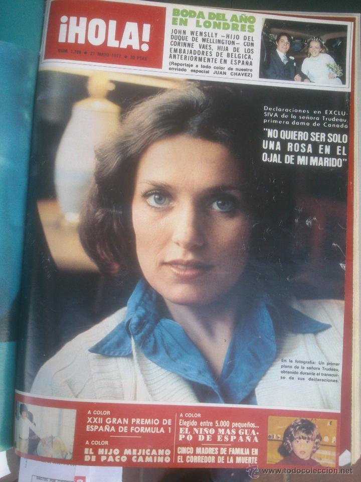 Coleccionismo de Revista Hola: Revista hola VER FOTOS historia de España 14 revistas años;70s - Foto 12 - 51036191