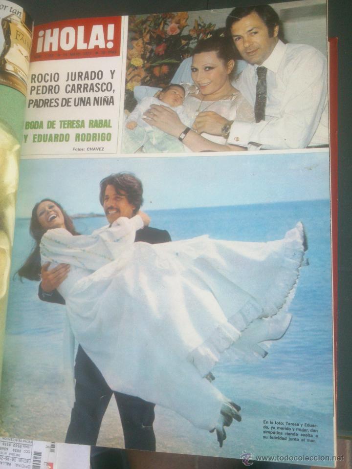 Coleccionismo de Revista Hola: Revista hola VER FOTOS historia de España 14 revistas años;70s - Foto 13 - 51036191