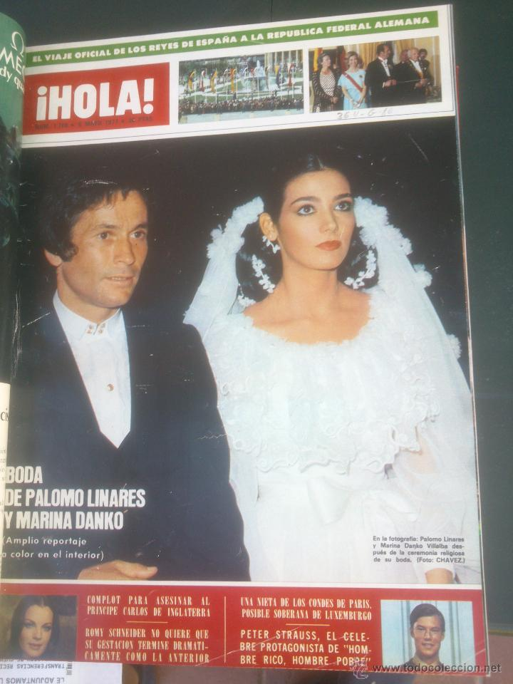 Coleccionismo de Revista Hola: Revista hola VER FOTOS historia de España 14 revistas años;70s - Foto 14 - 51036191