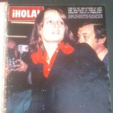Coleccionismo de Revista Hola: REVISTA HOLA VER FOTOS HISTORIA DE ESPAÑA 12 REVISTAS AÑOS;70S. Lote 51036224