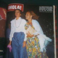 Coleccionismo de Revista Hola: REVISTA HOLA VER FOTOS HISTORIA DE ESPAÑA 14 REVISTAS AÑOS;70S. Lote 51036265