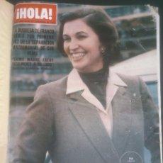 Coleccionismo de Revista Hola: REVISTA HOLA VER FOTOS HISTORIA DE ESPAÑA 11 REVISTAS AÑOS;70S. Lote 51036285