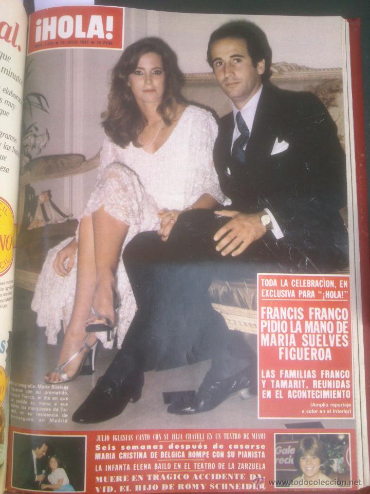 Coleccionismo de Revista Hola: Revista hola VER FOTOS historia de España 13 revistas años;80s - Foto 3 - 51036294