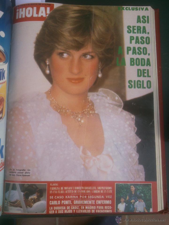 Coleccionismo de Revista Hola: Revista hola VER FOTOS historia de España 13 revistas años;80s - Foto 4 - 51036294
