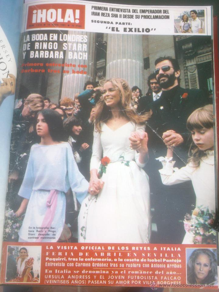 Coleccionismo de Revista Hola: Revista hola VER FOTOS historia de España 13 revistas años;80s - Foto 7 - 51036294