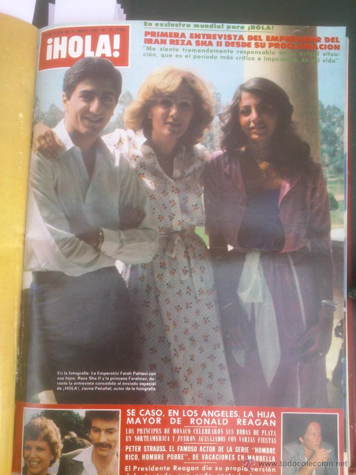 Coleccionismo de Revista Hola: Revista hola VER FOTOS historia de España 13 revistas años;80s - Foto 8 - 51036294