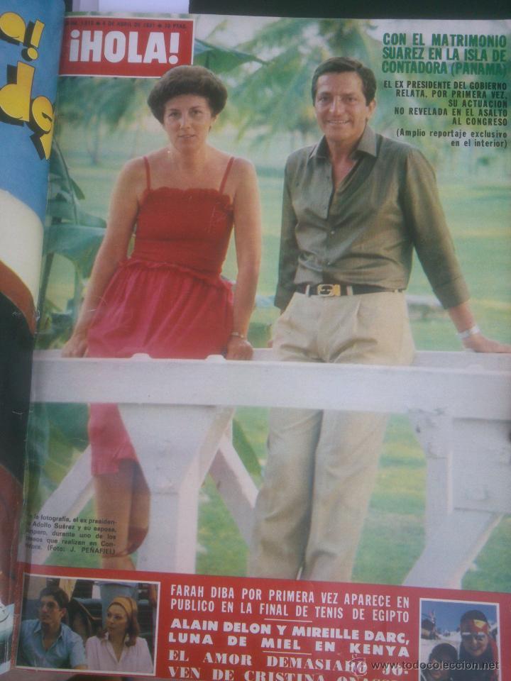 Coleccionismo de Revista Hola: Revista hola VER FOTOS historia de España 13 revistas años;80s - Foto 9 - 51036294